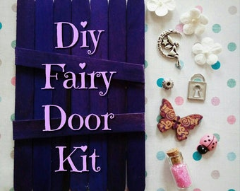 Design your own Fairy Door! DIY Fairy Door Kit