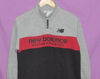 Vintage 90s New Balance Spell Out Sweatshirt Sweater Small Size