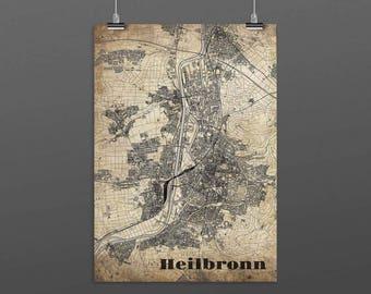 Heilbronn DIN A4 / DIN A3 - print - turquoise