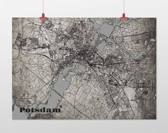 Potsdam - A4 / A3 - print - OldSchool