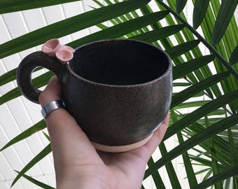 Coral Cappuccino Cup.