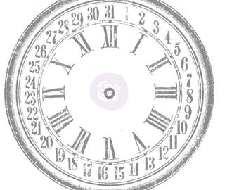 "IOD-Decor Transfer- 28"" Clock"