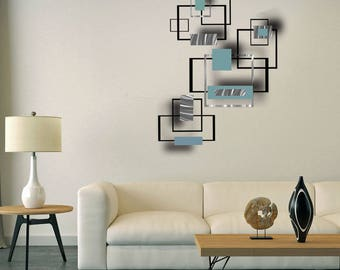 Large Modern metal wall art