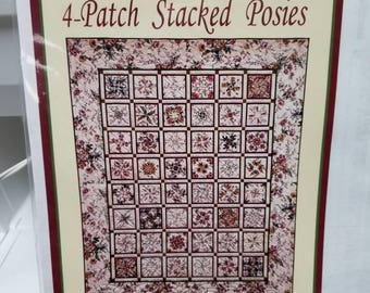 4-Patch Stacked Posies