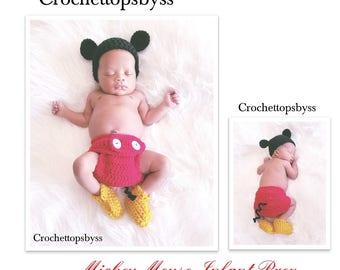 Infant Boys' Mickey Mouse Prop Set