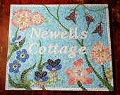 Mosaic Sign, Address Sign...