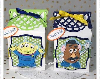 8 Toy Story Inspired Milk Carton Treats Box