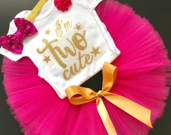 2nd birthday outfit girl, Second Birthday Outfit Girl, second Birthday Outfit Girl, hot pink second Birthday Outfit Girl
