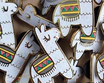 Lucky Llama Enamel Pin