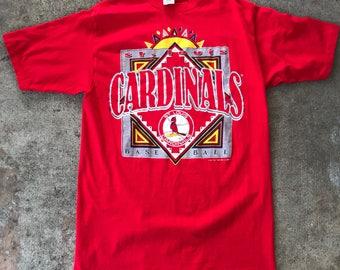 Men's Vintage 90's St.Louis Cardinals Logo 7 T-Shirt