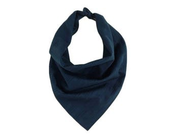 BANDANAS | Navy Blue Bandana | FASHION Accessories | ALPHONSINA