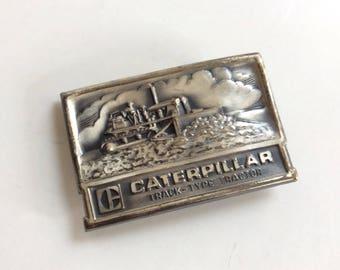 Vintage Caterpillar Belt Buckle