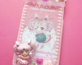 Ready to ship! Decoding Sailor Moon phone case sailor chibi moon anime manga