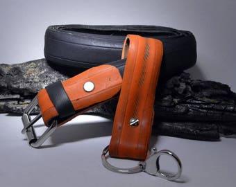 unisex belt with Keychain