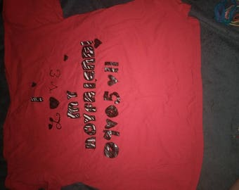 Personalized/custom made shirts
