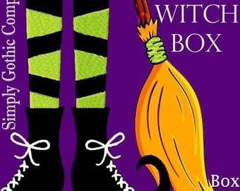 SimplyGothic Subscription- Box 6: The Witch Box - 5 LEFT