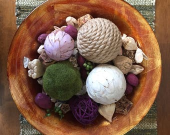 Potpourri and decorative balls
