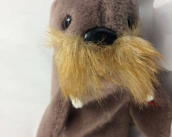 Ty Beanie Baby Jolly the Walrus Born December 2, 1996 Original MWT Gift Quality
