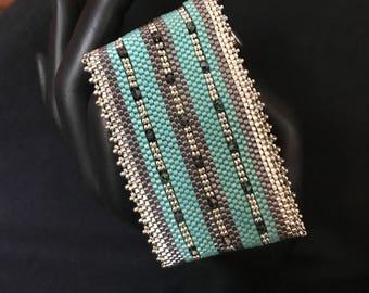 NO 282 Hand Woven Cuff Bracelet