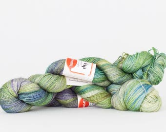 Hand dyed lace yarn Dream In Color WISP, colorway Fortune