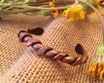 Twist Copper Bracelet
