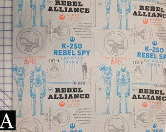 Star Wars Fabric — Rogue One series from Camelot Fabrics (3 Options)