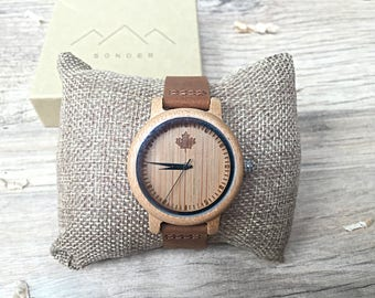 DOVER series - Classic Ladies Wooden watches, Womens Wooden watch, womens wood watch, wood watch, Wood Watch Woman, Personalised Watch
