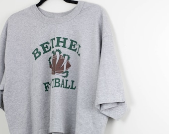 Bethel Football Workout Crop Top