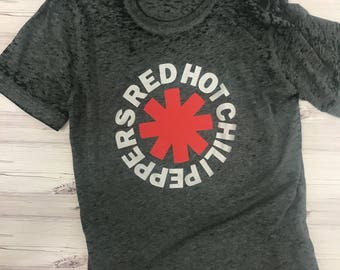 Red Hot Chili Peppers TShirt  Burnout