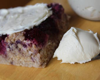 Vanilla Bean Protein Frosting/Icing- Vegan, Sugar Free, Gluten Free, Paleo, Clean Eating