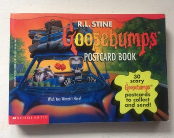 Goosebumps Postcard Book