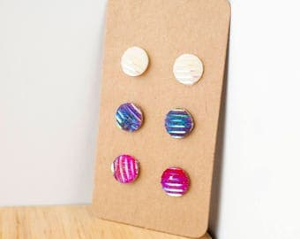 Delicate stud earrings bohemian