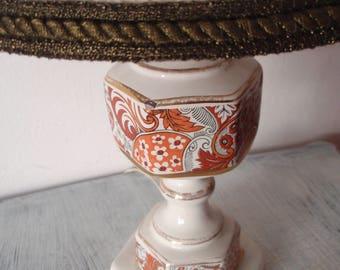 vintage porcelain lamp
