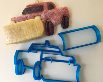 Snow Plow Cookie Cutter Set