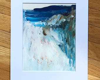 Abstract painting, acrylic Landscape, original painting, landscape painting, abstract landscape, original art, small painting, small art