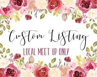 Custom Wood Sign || *Calvert County Meet Up Only*