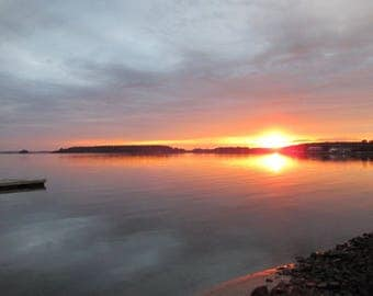 Rehoboth Bay at Sunset Original Photography