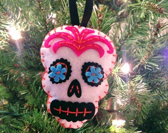 Day of the Dead Sugar Skull Ornament