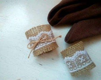 50 Burlap Wedding Napkin Rings, Rustic Wedding Decor, Rustic Wedding Napkin, Wedding Table Decor, Rustic Wedding, Rustic napkin holder