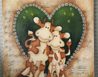 "The ""Moo-sic "" of Love"