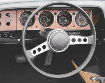 1971 Dodge Charger Dashboard Photo