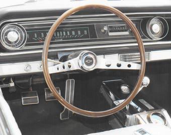 1965 Chevy - Chevrolet Impala SS Dashboard Photo