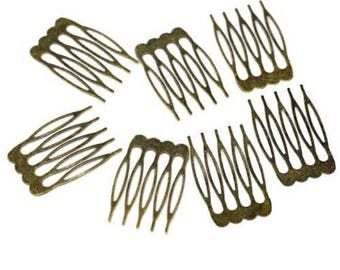 5 pins comb hair clips to decorate accessory 39 x 26 mm