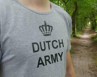 T-shirt Royal Dutch Army