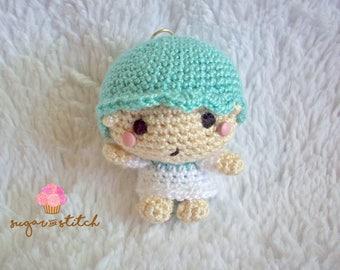 kiki - sanrio - crochet plushies - keychain - plushies - amigurumi