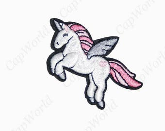 Unicorn Patches - Embroidery Unicorn Applique Iron On Patch