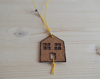 Cork House necklace