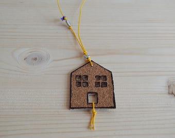 Cork House necklace