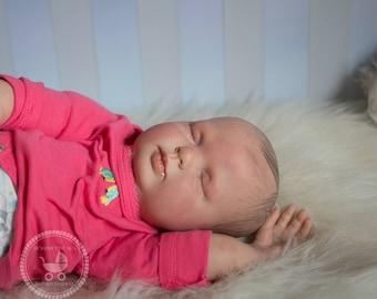 Reborn Rose baby Girl or boy | OOAK Hand Painted Doll