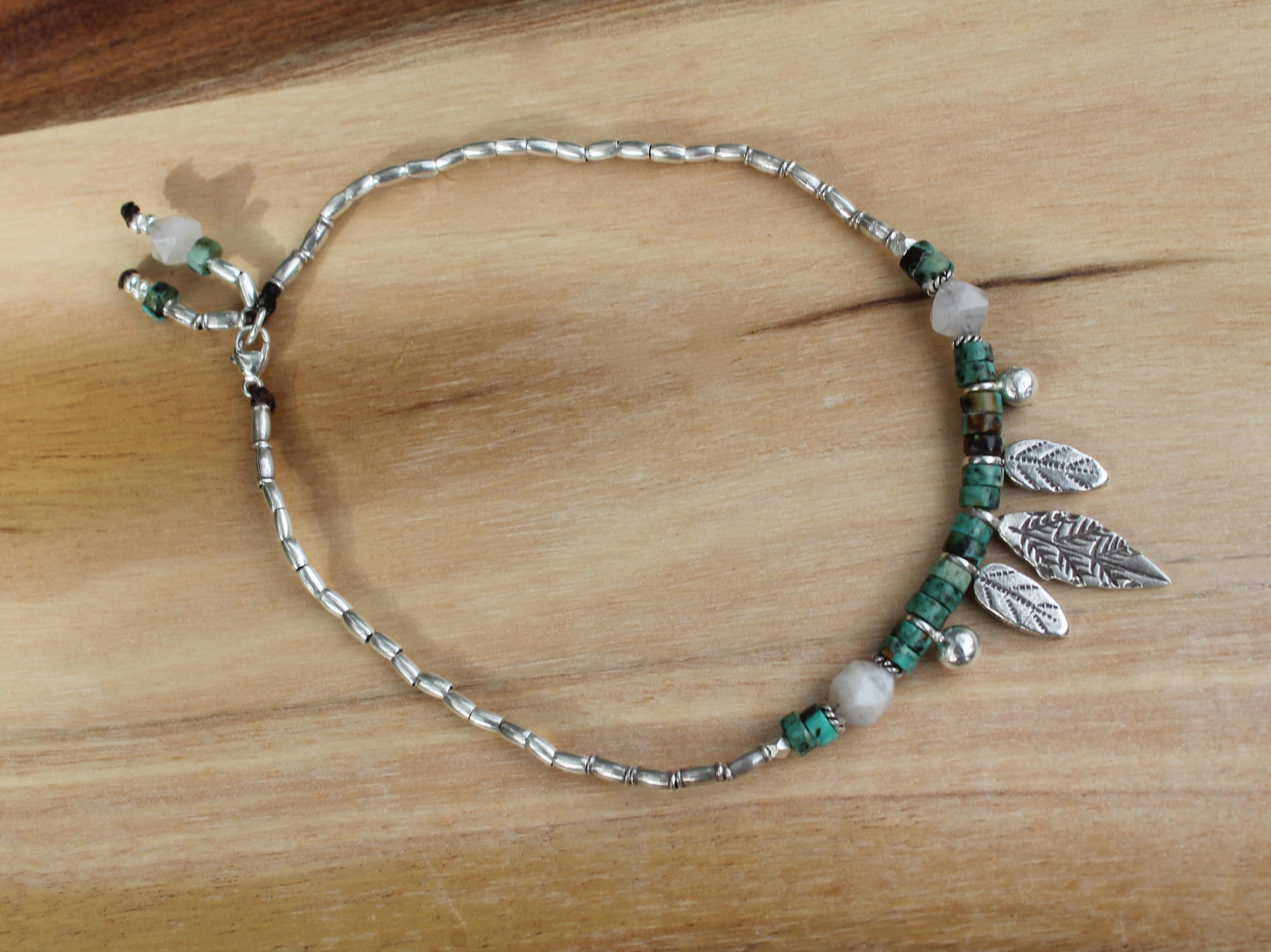 products newport bracelet aquamarine anklet tracy